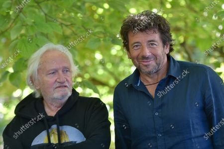 Stock Photo of Niels Arestrup and Patrick Bruel