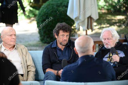 Bernard Stora, Patrick Bruel and Niels Arestrup
