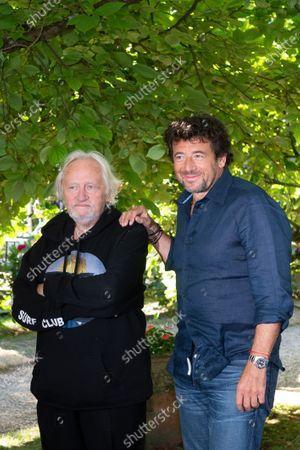 Niels Arestrup and Patrick Bruel