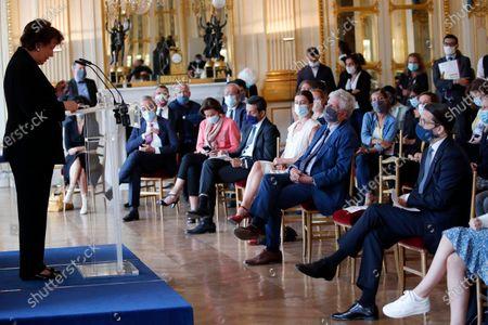 Editorial picture of Culture, Paris, France - 01 Sep 2020