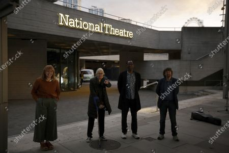 Editorial picture of Virus Outbreak Theatre, London, United Kingdom - 01 Sep 2020