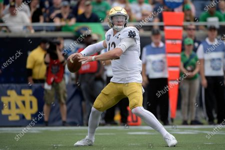 Editorial photo of Notre Dame Preview Football, Orlando, United States - 28 Dec 2019