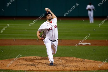 Editorial picture of Braves Red Sox Baseball, Boston, United States - 01 Sep 2020
