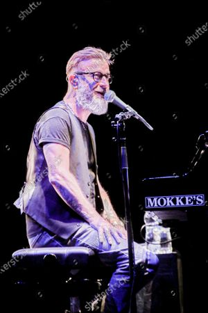 Editorial image of Marco Masini in concert, Rome, Italy - 01 Sep 2020