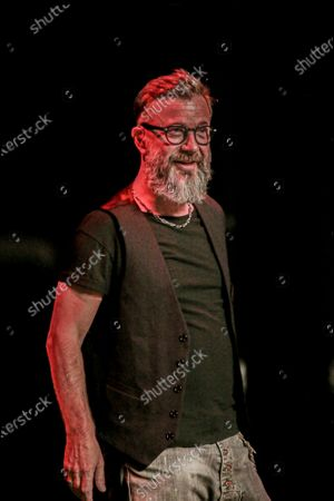 Editorial photo of Marco Masini in concert, Rome, Italy - 01 Sep 2020