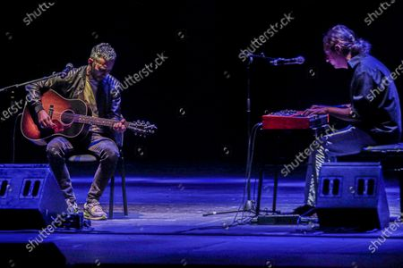 Editorial picture of Marco Masini in concert, Rome, Italy - 01 Sep 2020