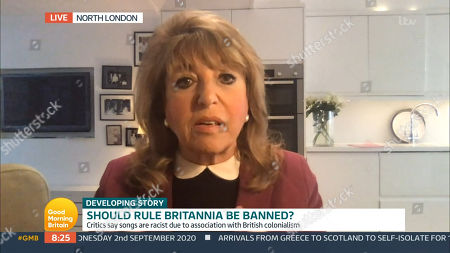 Editorial picture of 'Good Morning Britain' TV show, London, UK - 02 Sep 2020