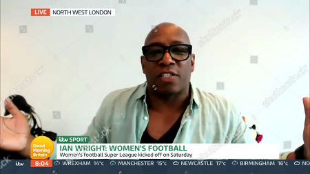 Stock Picture of Ian Wright