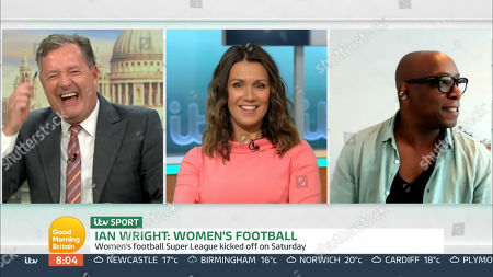 Editorial image of 'Good Morning Britain' TV show, London, UK - 02 Sep 2020