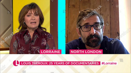 Stock Photo of Lorraine Kelly and Louis Theroux