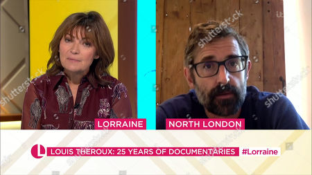 Lorraine Kelly and Louis Theroux