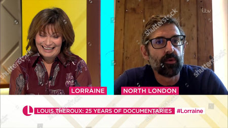 Stock Picture of Lorraine Kelly and Louis Theroux