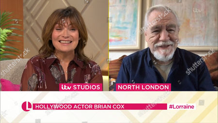 Lorraine Kelly and Brian Cox