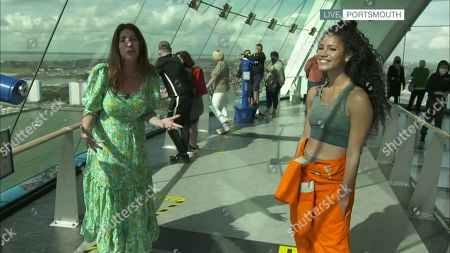 Lisa Snowdon and Vick Hope