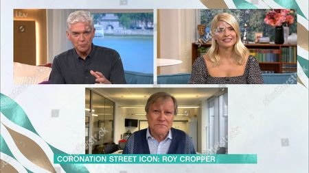 Phillip Schofield, Holly Willoughby and David Neilson