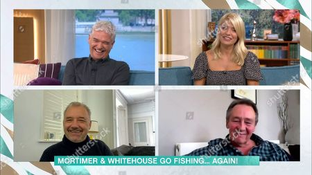 Phillip Schofield, Holly Willoughby, Bob Mortimer and Paul Whitehouse