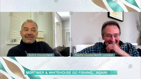Stock Image of Bob Mortimer and Paul Whitehouse