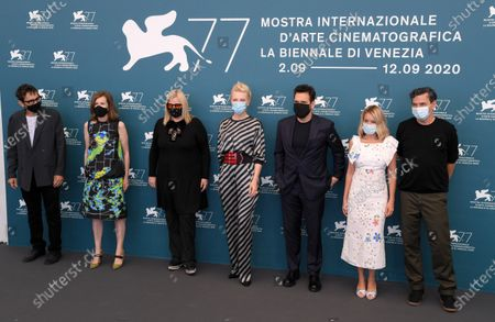 Nicola Lagioia, Joanna Hogg, Veronika Franz, Cate Blanchett, Matt Dillon, Ludivine Sagnier and Christian Petzold