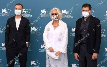 Remi Bonhomme, Dora Bouchoucha and Claudio Giovannesi