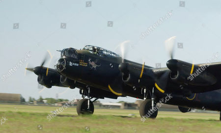 Lancaster at RAF Coningsby.