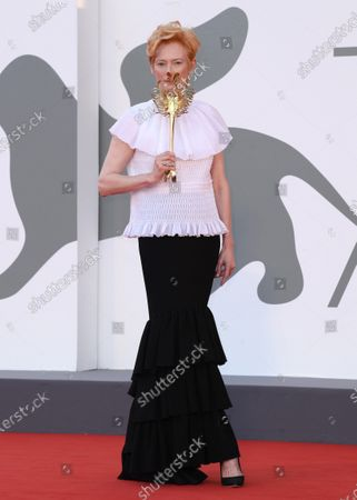 'The Ties' premiere and Golden Lion for Lifetime Achievement Ceremony, 77th Venice International Film Festival, Italy - 02 Sep 2020: редакционная картинка