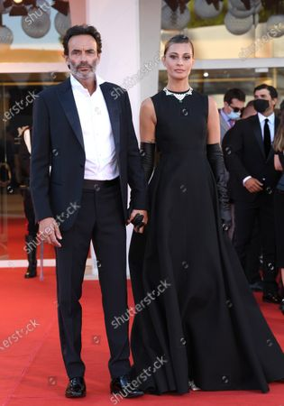 Stock Photo of Sveva Alviti and Anthony Delon