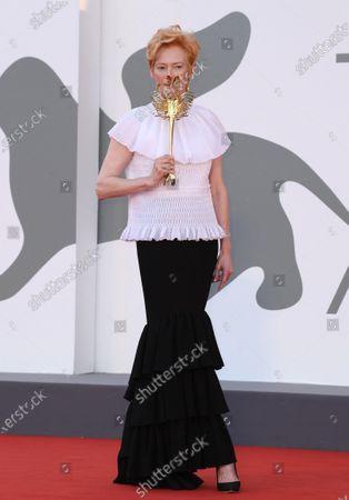 Imagen editorial de 'The Ties' premiere and Golden Lion for Lifetime Achievement Ceremony, 77th Venice International Film Festival, Italy - 02 Sep 2020