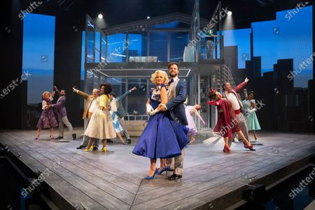 Stock Picture of Kimberley Walsh as Annie, Jay McGuiness as Sam