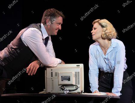 Daniel Casey as Walter, Kimberley Walsh as Annie,