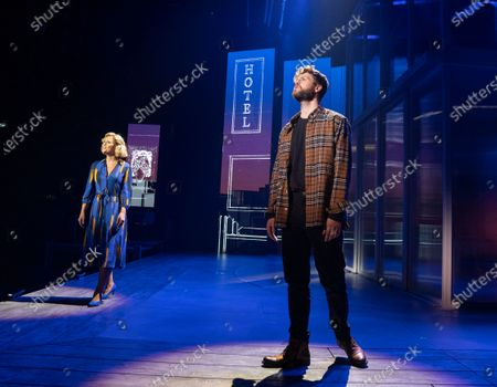 Kimberley Walsh as Annie, Jay McGuiness as Sam