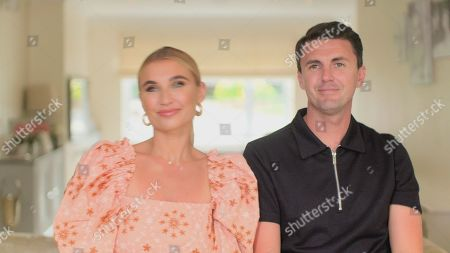Billie Faiers and Greg.