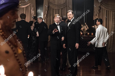David Morrissey as Walter Blackett and Luke Newberry as Monty Blackett.