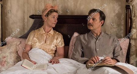 David Morrissey as Walter Blackett and Jane Horrocks as Sylvia Blackett..