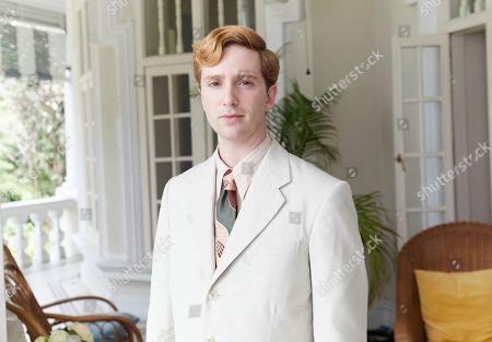 Stock Image of Luke Newberry as Monty Blackett.