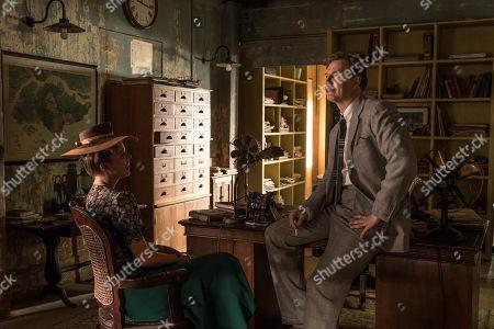 David Morrissey as Walter Blackett and Georgia Blizzard as Joan Blackett.