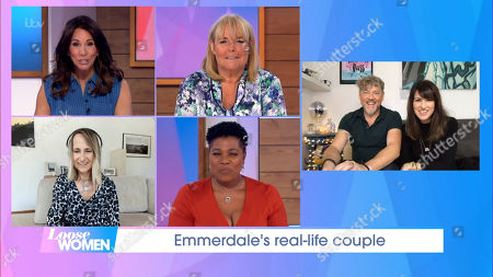 Andrea McLean, Linda Robson, Carol McGiffin, Brenda Edwards, Mark Jordon and Laura Norton