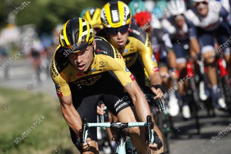 German rider Tony Martin of Team Jumbo-Visma in action during the fifth stage of the Tour de France cycling race over 183km from Gap to Privas, France, 02 September 2020.