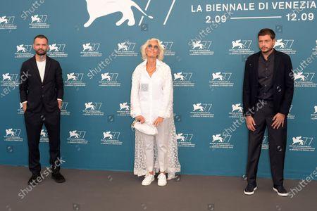 "Claudio Giovannesi â€"" president, Remi Bonhomme, Dora Bouchoucha"