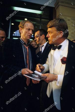 Picture shows - John McEnery as Loshkevoi and Sven Bertil Taube as Stolyinovich