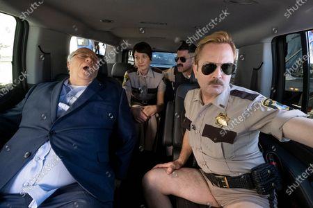 Editorial photo of 'Reno 911!' TV Show, Season 7 - 2020