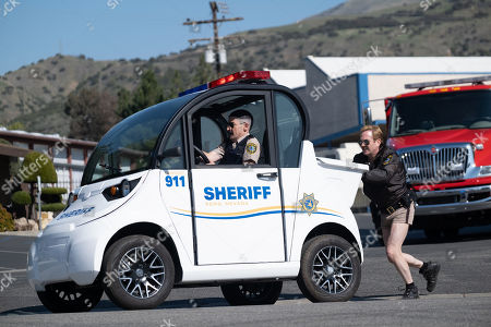 Robert Ben Garant as Deputy Travis Junior and Thomas Lennon as Lieutenant Jim Dangle