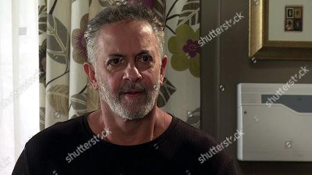 Coronation Street - Ep 10111 Monday 7th September 2020 Dev Alahan, as played by Jimmi Harkishin, is furious to catch Asha Alahan and Corey Brent together.
