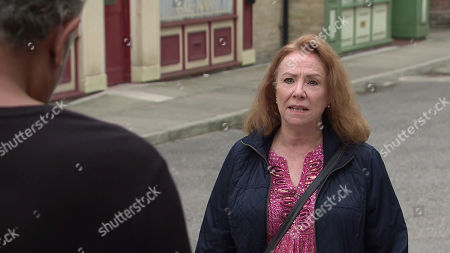 Coronation Street - Ep 10111 Monday 7th September 2020 As Dev Alahan talks to an estate agent about the kebab shop, Asha Alahan and Aadi Alahan exchange worried looks. Cathy Matthews, as played by Melanie Hill, is shocked to realise she could be out of work.