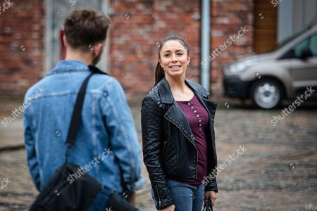 Coronation Street - Ep 10115 Monday 14th September 2020 - 1st Ep Ray Crosby tells David Platt, as played by Jack P Shepherd, and Shona Platt, as played by Julia Goulding, they're welcome to stay at his hotel for as long as they need and he's happy to recommend a builder.