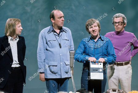Tim Brooke Taylor, John Junkin, Denis King and Barry Cryer.