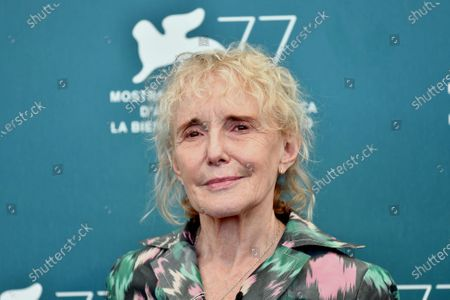 Stock Image of Claire Denis President of the Orizzonti Jury