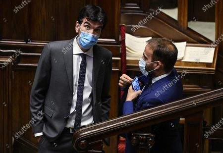 Editorial picture of Vote of confidence on the Covid emergency extension decree, Rome, Italy - 02 Sep 2020