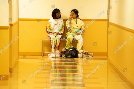 Stock Picture of Ashleigh LaThrop as Becky and Sasha Lane as Jessica Hyde