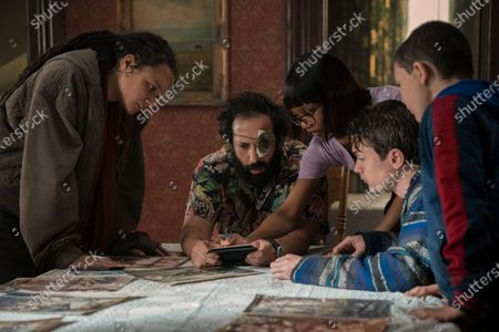 Sasha Lane as Jessica Hyde, Desmin Borges as Wilson Wilson, Ashleigh LaThrop as Becky, Dan Byrd as Ian and Javon 'Wanna' Walton as Grant