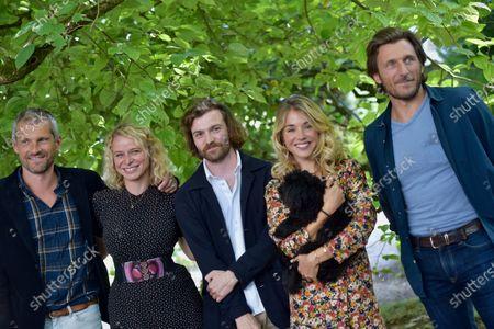 Baptiste Drapeau, Alice Isaaz, François Dominique, Judith Margolin, Mathilde Dromard